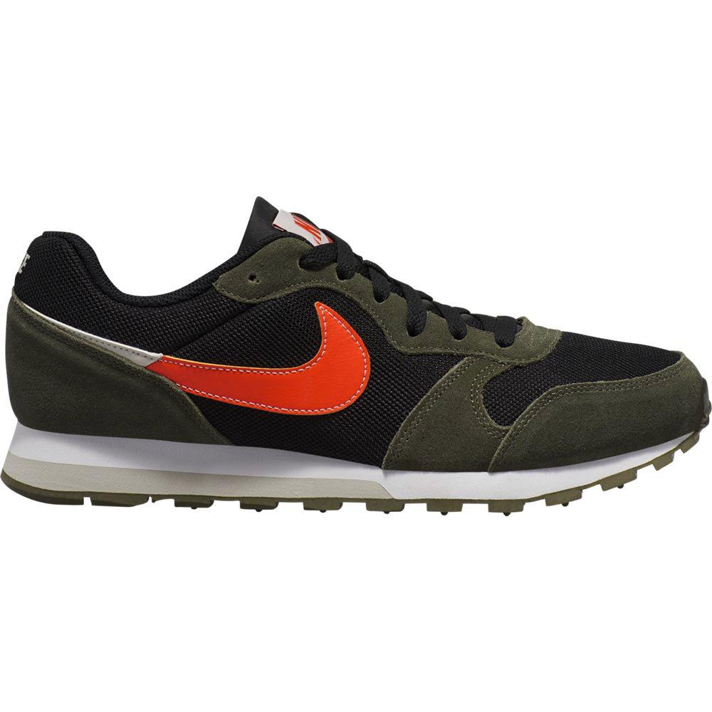 Nike MD Runner 2 ES1 Herren Retro Sneaker schwarz grün CI2232 003