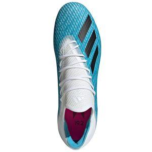 adidas X 19.2 FG Herren Fußballschuhe Nockenschuhe blau weiß F35387 – Bild 3