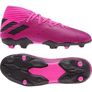 adidas Nemeziz 19.3 FG J Kinder Fußballschuhe pink schwarz F99953  – Bild 3
