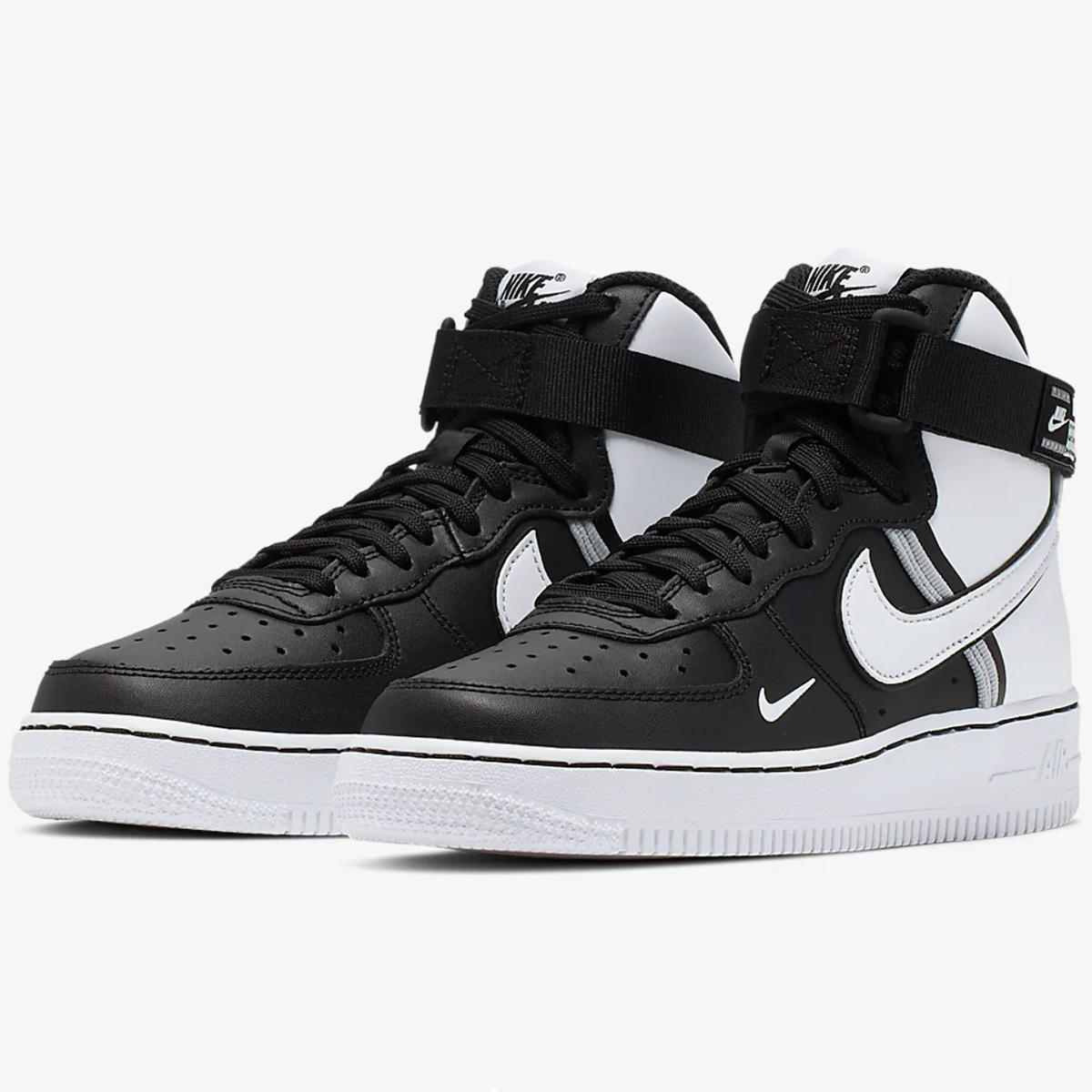 Nike Air Force 1 High LV8 2 GS in schwarz CI2164 010