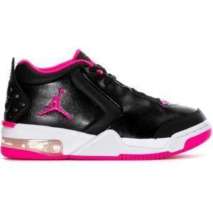 Jordan Big Fund GS Kinder Sneaker schwarz weiß pink BV7375 061 – Bild 1