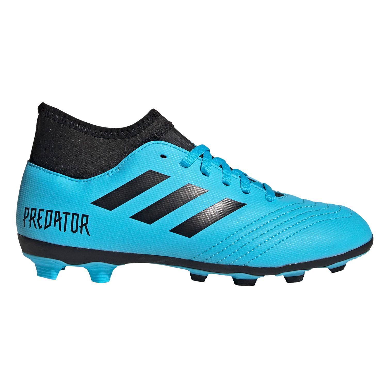 adidas Predator 19.4 FxG J Kinder Fußballschuhe blau schwarz EF9037