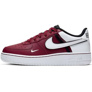 Nike Air Force 1 LV8 2 GS Sneaker weinrot weiß CI1756 600 – Bild 2