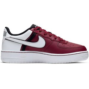 Nike Air Force 1 LV8 2 GS Sneaker weinrot weiß CI1756 600 – Bild 1