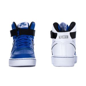 Nike Air Force 1 High LV8 2 GS Sneaker blau weiß CI2164 400 – Bild 3
