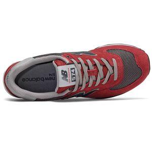 New Balance ML574FNB Herren Sneaker rot grün blau 738191-60 63 – Bild 3