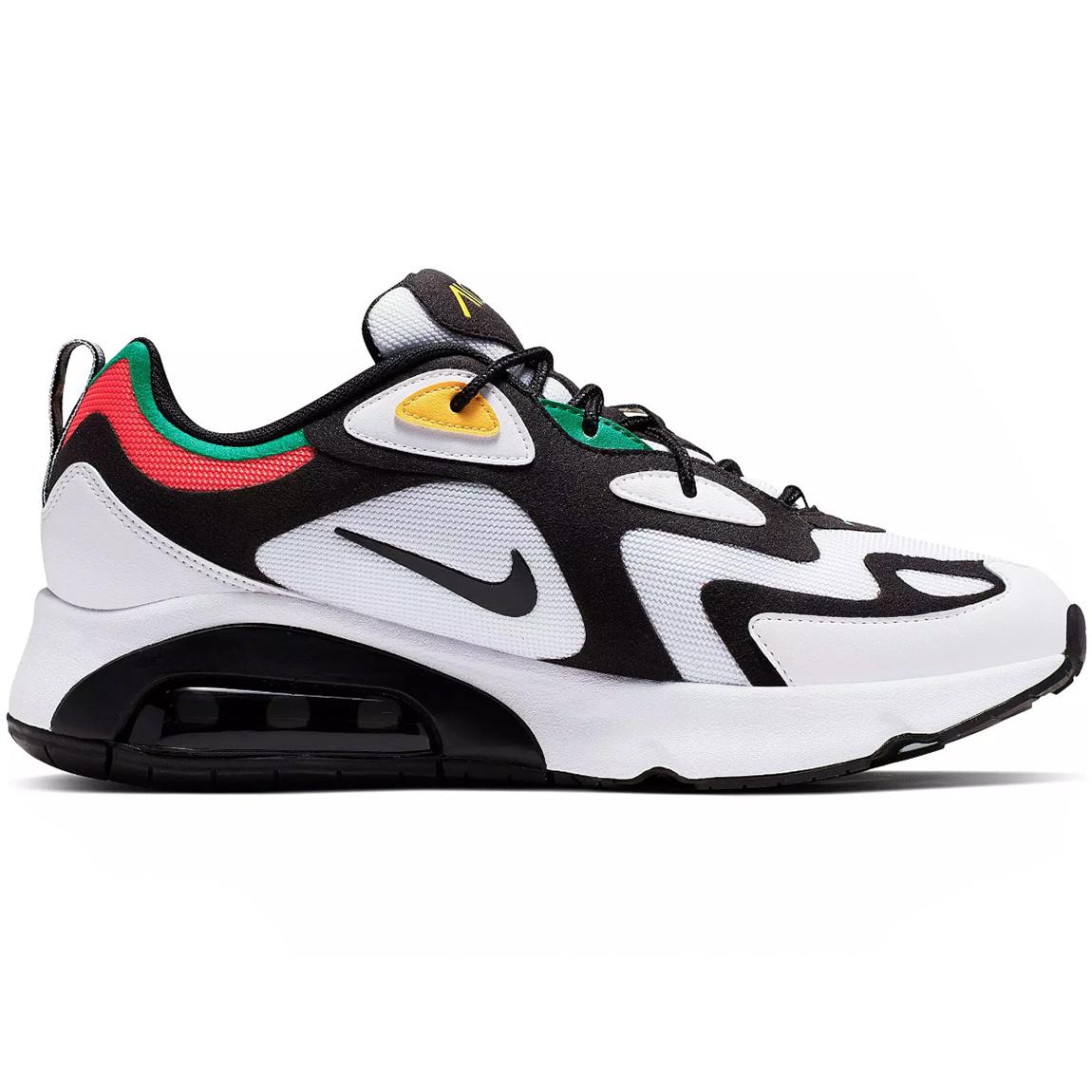 Nike Air Max Command Herren Sneaker schwarz grau neon 629993 047
