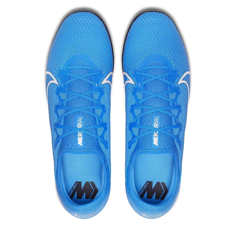 Nike Vapor 13 Pro IC Herren Hallenschuhe blau weiß AT8001 414