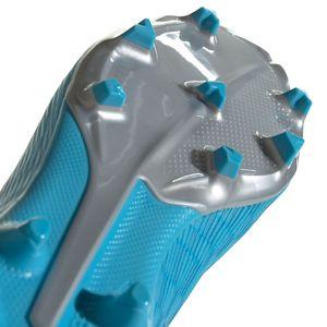adidas X 19.3 LL FG J Kinder Fußball Nockenschuhe blau silber EF9114 – Bild 7