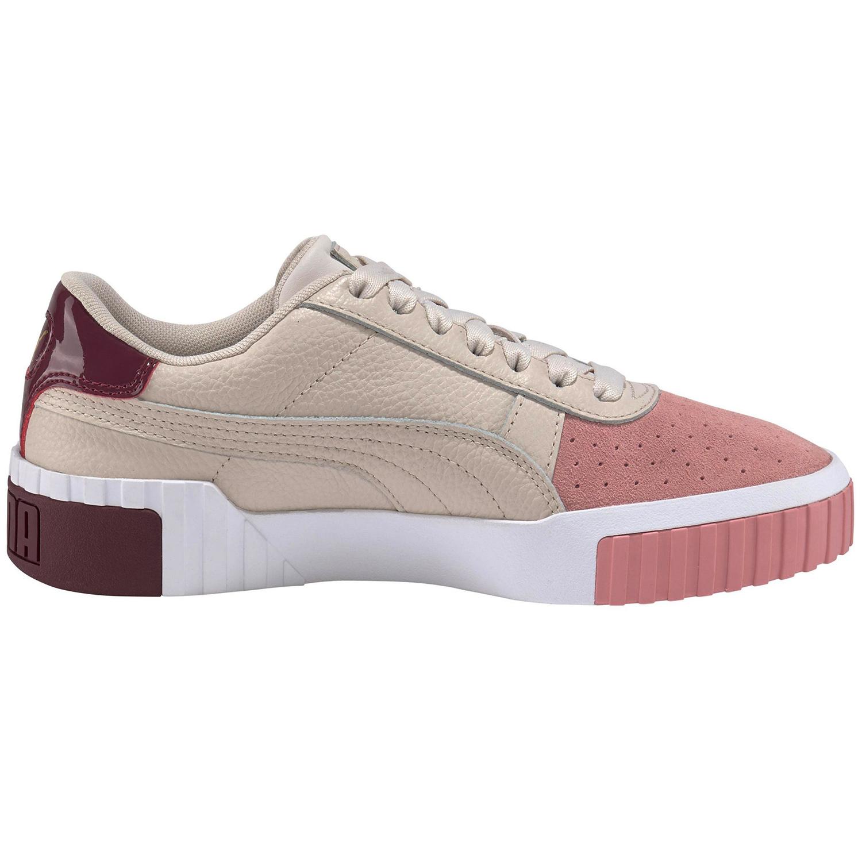 Brandneu groß auswahl wo kann ich kaufen Puma Cali Remix Wn's Damen Sneaker beige rosa 369968 01