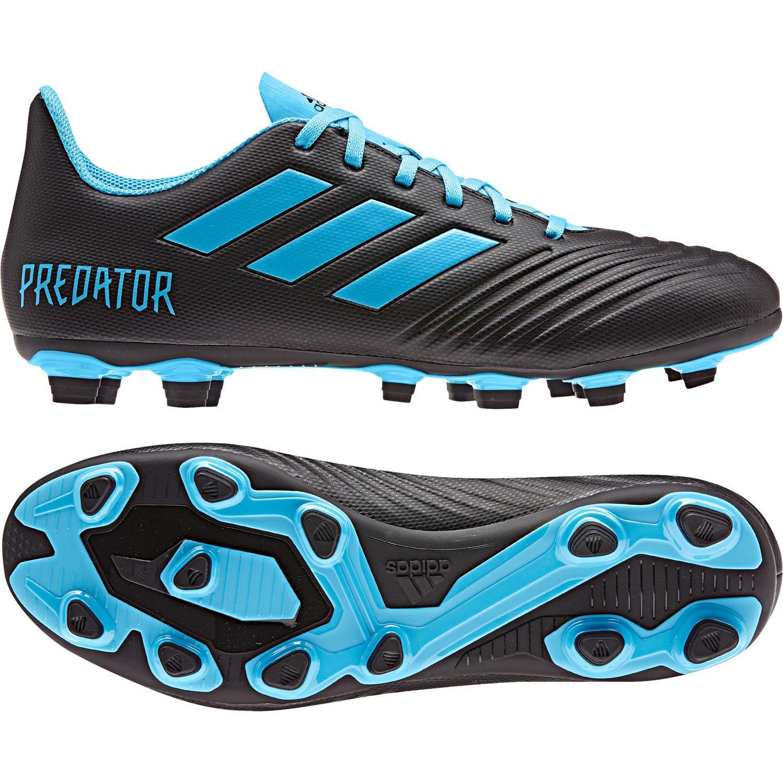 adidas performance Predator 19.4 FxG Fußball Herren schwarz