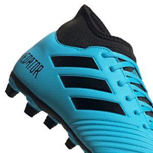 adidas Predator 19.4 S FxG Herren Fußballschuhe blau schwarz EF0383 – Bild 7