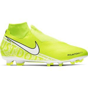 Nike Phantom VSN Pro DF FG Fußballschuhe gelb weiß AO3266 717 – Bild 1