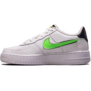 Nike Air Force 1 LV8 3 GS Sneaker weiß grün schwarz AR7446 100 – Bild 2