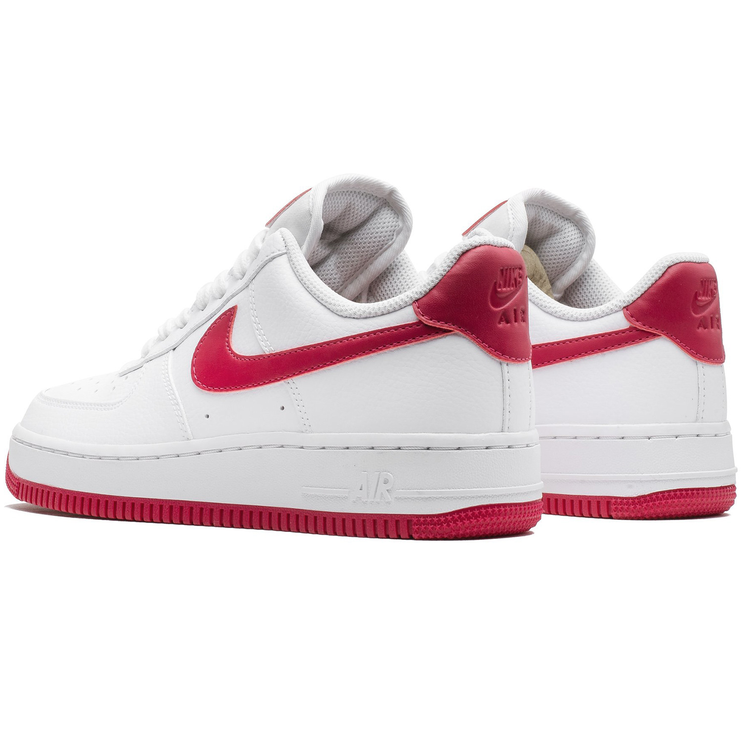 Groß Boutique Nike Frauen Air Force 1 07 LE Schwarz Cherry