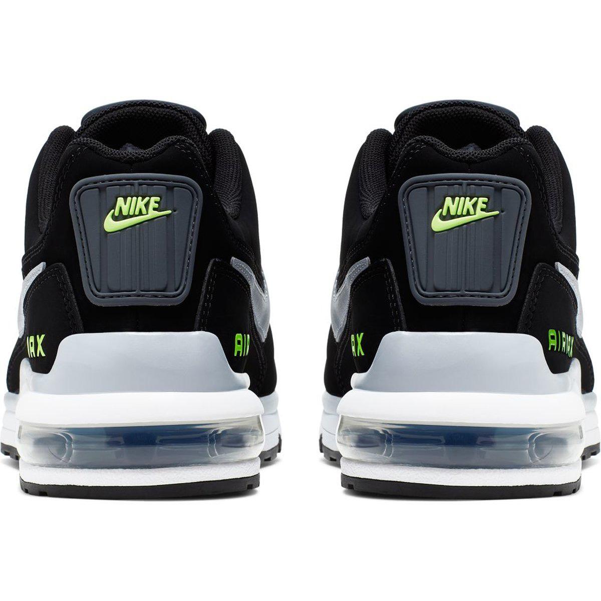 Nike Air Max LTD 3 Herren Sneaker schwarz grau neongelb