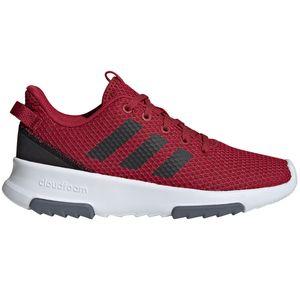 adidas neo CF Racer TR Kinder & Damen Sneaker weinrot weiß EE6954 – Bild 1