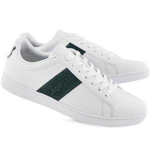 Lacoste Carnaby Evo 319 1 SMA Herren Sneaker weiß grün 7-38SMA00141R5 – Bild 2