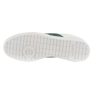 Lacoste Carnaby Evo 319 1 SMA Herren Sneaker weiß grün 7-38SMA00141R5 – Bild 4