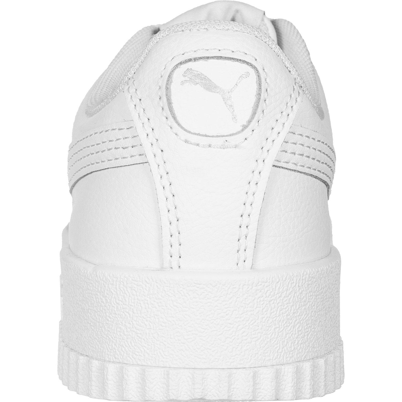 Puma Carina L Sneaker low Damen weiß silber