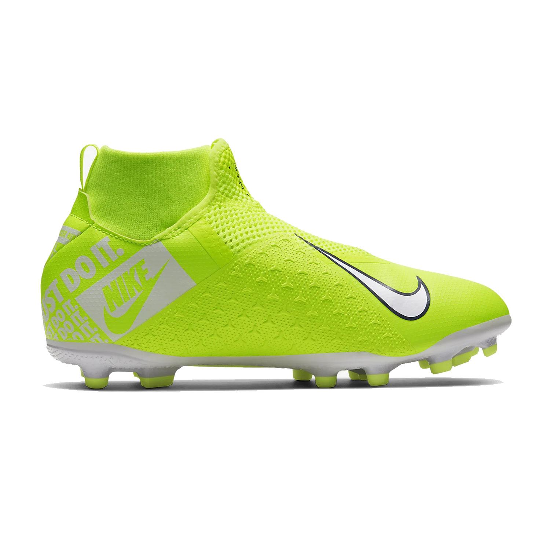 Nike Jr Phantom Vsn Academy Df Fg Mg Fussballschuhe Gelb Ao3287 717
