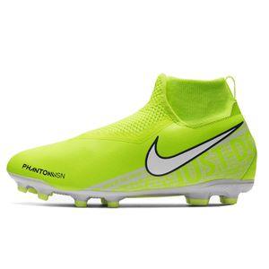 Nike JR Phantom VSN Academy DF FG/MG Fußballschuhe gelb AO3287 717 – Bild 2