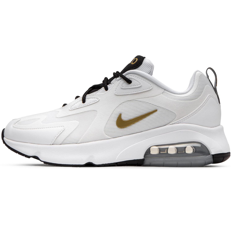 more photos 1f162 9c091 Nike W Air Max 200 Damen Sneaker weiß gold