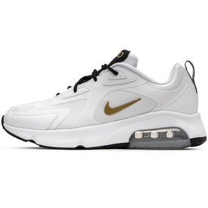 Nike WMNS Air Max 200 Damen Sneaker weiß gold AT6175 102 – Bild 2