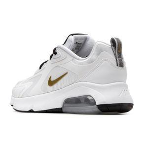 Nike W Air Max 200 Damen Sneaker weiß gold – Bild 3