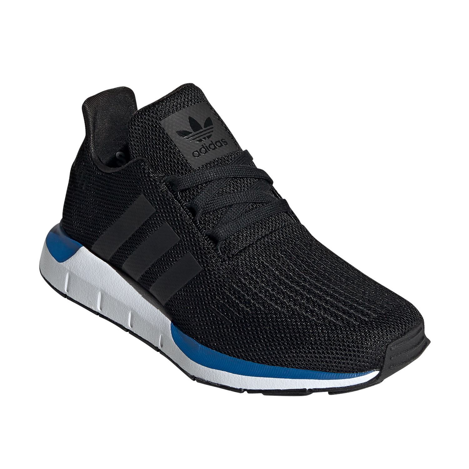 adidas Originals Swift Run J Kinder Sneaker schwarz weiß blau EE7025