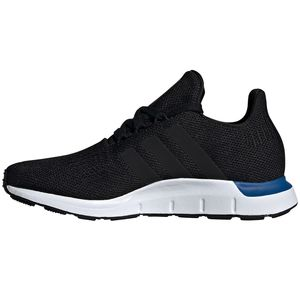adidas Originals Swift Run J Kinder Sneaker schwarz weiß blau EE7025 – Bild 2