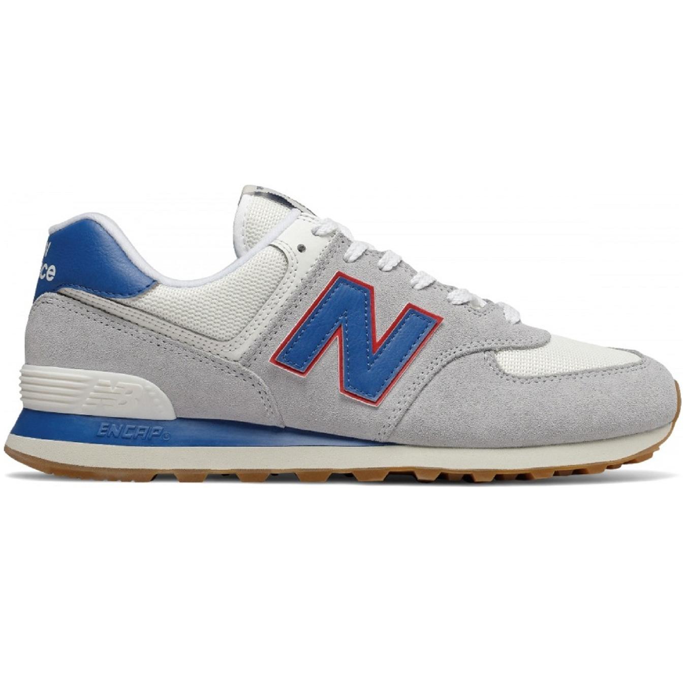 New Balance ML574ERH Herren Sneaker grau blau 738181-60-12