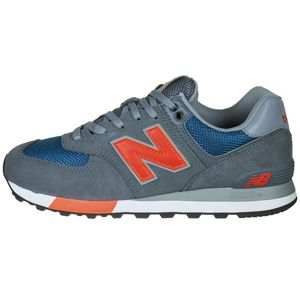 New Balance ML574NFO Herren Sneaker grau blau orange 738191-60-12 – Bild 3
