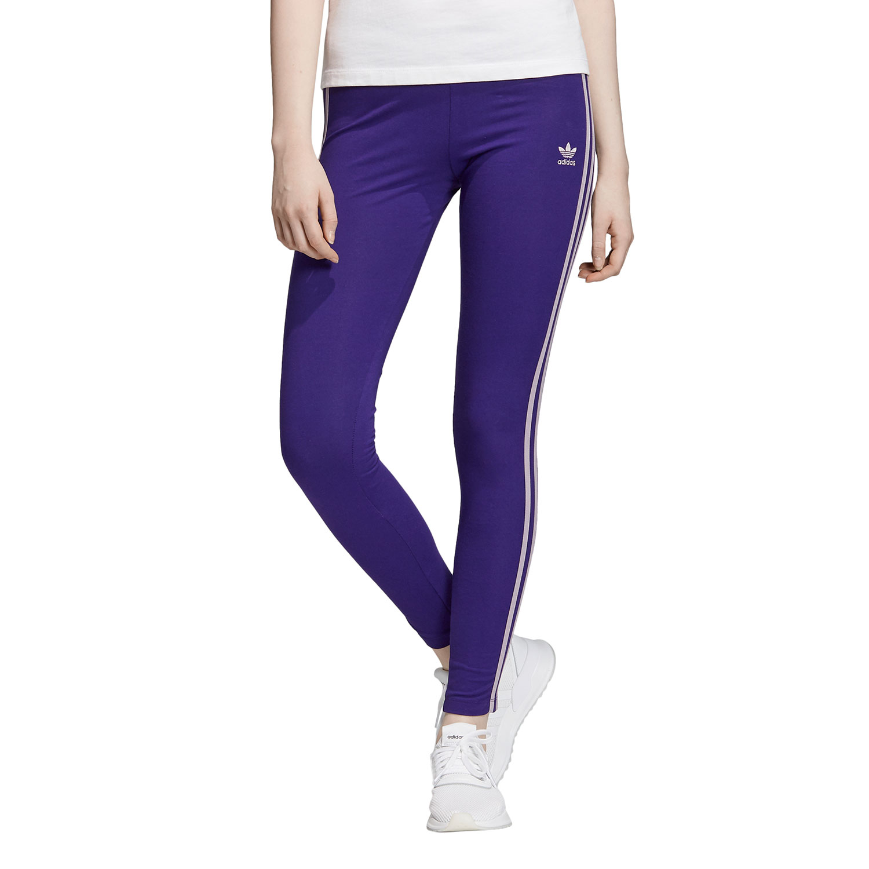adidas Originals 3-Stripes Tight Damen Leggings collegiate purple EJ9021