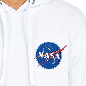 Alpha Industries Apollo 11 Hoody Pullover weiß 188310/09 – Bild 2