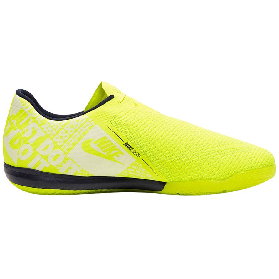 Nike Zoom Phantom Venom Pro IC Fußballschuhe Halle neongelb BQ7496 717