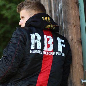 Alpha Industries RBF Herren Jacket schwarz 198123/03  – Bild 6