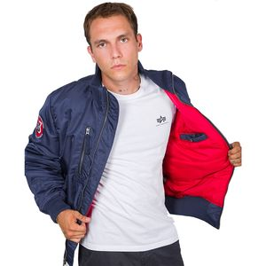 Alpha Industries RBF Herren Jacket new navy 198123/435  – Bild 2
