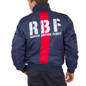 Alpha Industries RBF Herren Jacket new navy 198123/435  – Bild 4