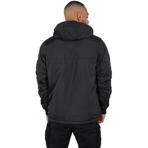 Alpha Industries AI Tape Anorak Herrenjacke schwarz 198133/03 – Bild 4