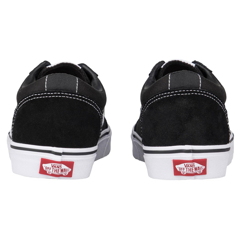 Vans Ward Sneaker schwarz weiß VN0A3IUNIJU1