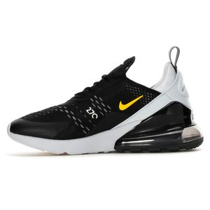 Nike Air Max 270 GS Kinder Sneaker black pure platinium 943345 016 – Bild 2