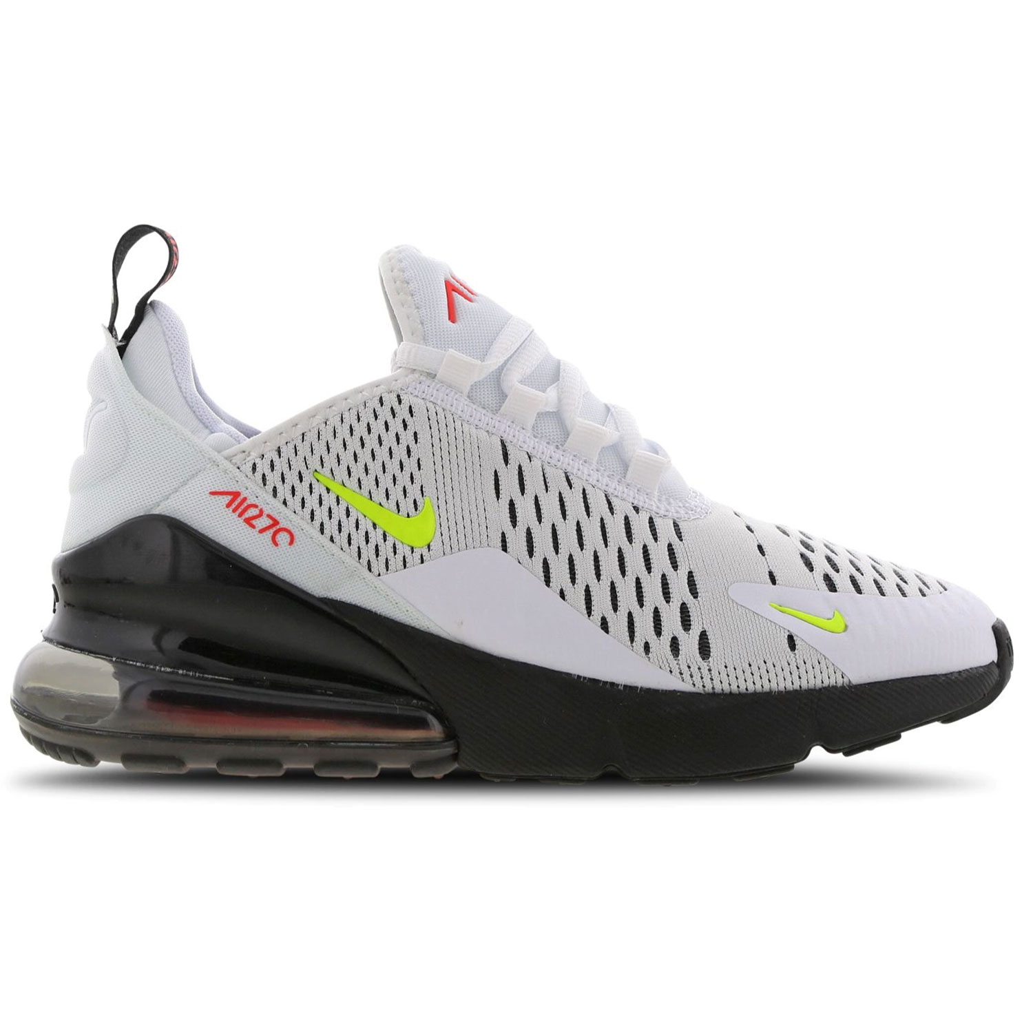 delicate colors outlet boutique ever popular Nike Air Max 270 GS Kinder Sneaker weiß schwarz gelb CJ4581 100