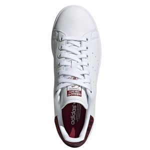 adidas Originals Stan Smith W Damen Sneaker weiß weinrot EE4896 – Bild 3