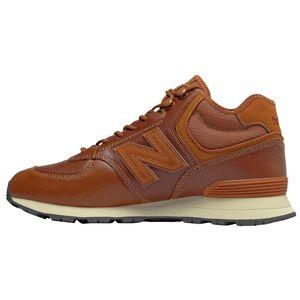 New Balance MH574OAD Herren Sneaker braun Leder 675781-60 114 – Bild 2