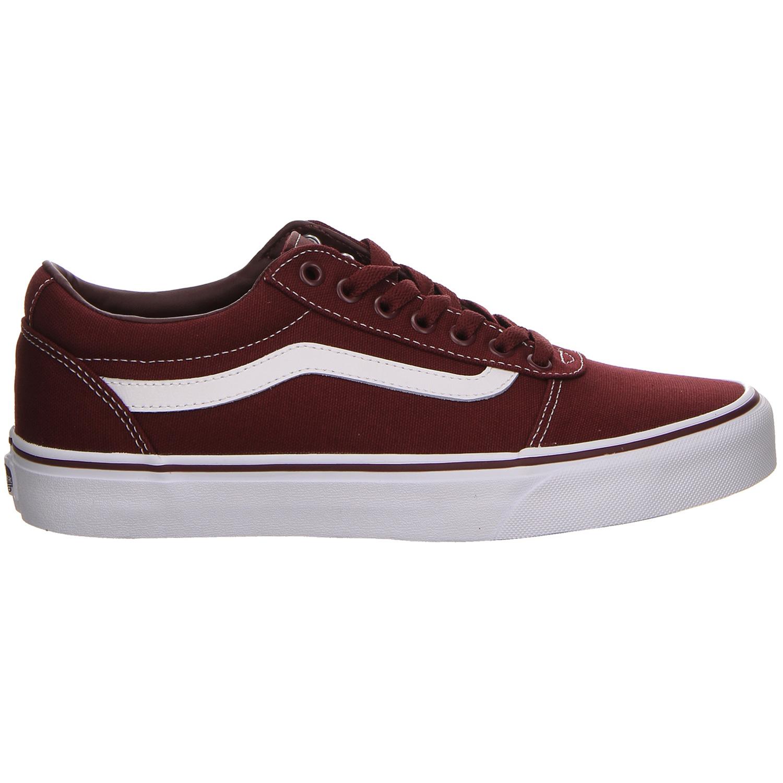Vans Ward Sneaker weinrot weiß VN0A38DM8J71
