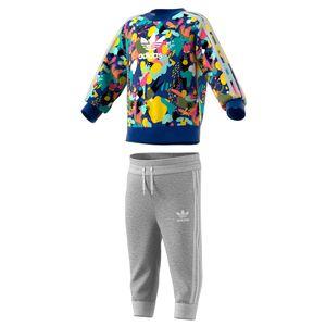 adidas Originals Crew Set Kleinkind Anzug mehrfarbig ED7711 – Bild 2