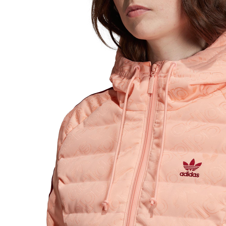 adidas Originals Slim Jacket Damen Steppjacke rosa ED4739