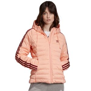 adidas Originals Slim Jacket Damen Steppjacke rosa ED4739 – Bild 3
