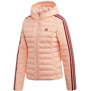 adidas Originals Slim Jacket Damen Steppjacke rosa ED4739 – Bild 1